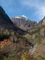 横尾から見る南岳(かな?)